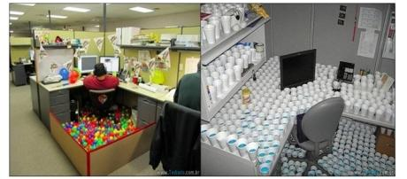 Situações diferentes e inusitadas no trabalho