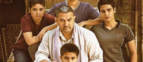 A still from 'Dangal' movie starring lead cast