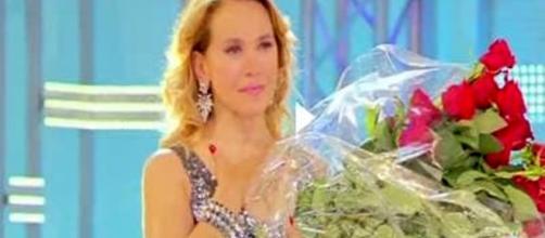 Barbara D'Urso: lacrime in diretta tv