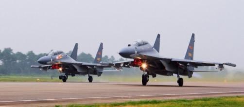China fighter jets intercept US radiation-sniffing spy plane over ... - cbsnews.com