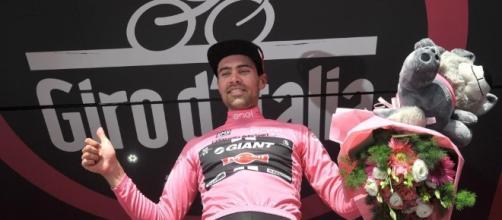 Giro d'Italia, Tom Domoulin aumenta il suo vantaggio in classifica generale dopo la vittoria nella 14ª tappa