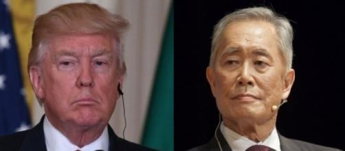 Donald Trump, George Takei, via Twitter