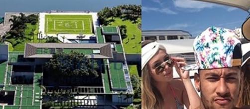 Neymar comprou uma luxuosa mansão para passar férias perto de Angra dos Reis