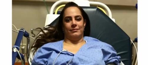 Sílvia Abravanel está hospitalizada por causa de uma embolia pulmonar