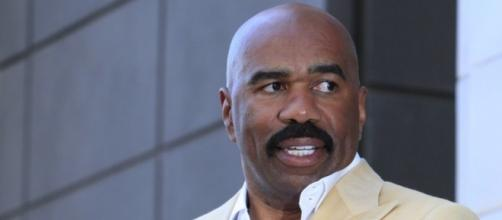 Steve Harvey's former wife just filed a case against him for $60,000,000. Photo - 921theshore.com