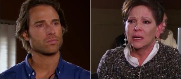 Alessandro defende sua mãe de Pedro