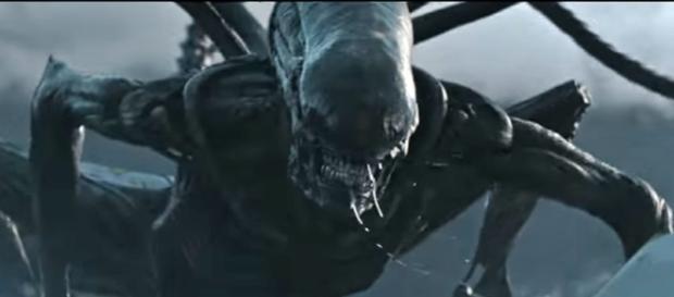 Alien Covenant monster. / Photo screencap from 20th Century Fox via Youtube