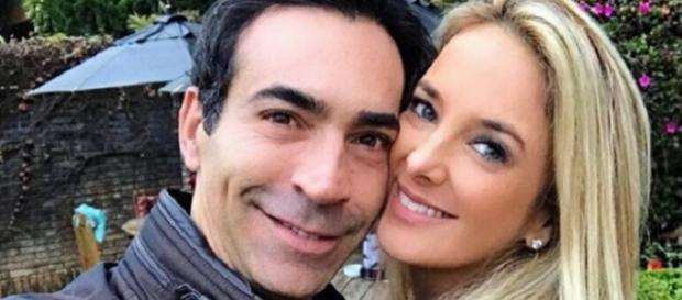 César Tralli e Ticiane Pinheiro estão namorando novamente (foto em Campos do Jordão, reprodução Instagram)