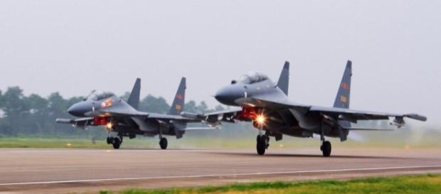 China fighter jets intercept US radiation-sniffing spy plane over ... - cbsnews.com