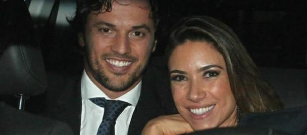 Deputado Fábio Faria e Patrícia Abravanel