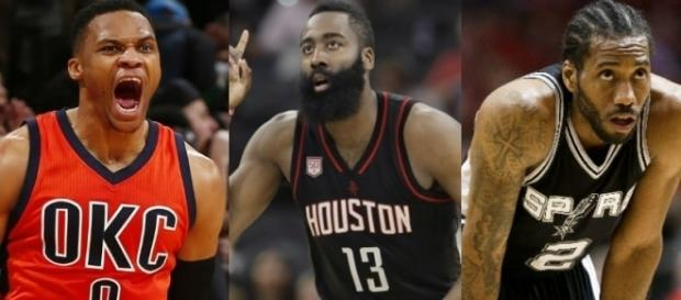 Harden, Westbrook, Kawhi are three finalists for MVP - www.facebook.com/MJOAdmin