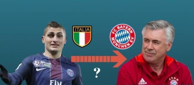 La situation Verratti Bayern Munich