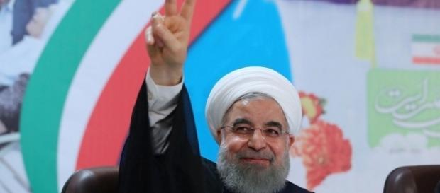 Moderado Hasan Rohani é reeleito presidente do Irã (Foto: reprodução / G1)