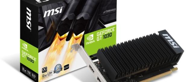 MSI GeForce GT 1030 LP Heatsink 2GB - Free Shipping - South Africa - evetech.co.za