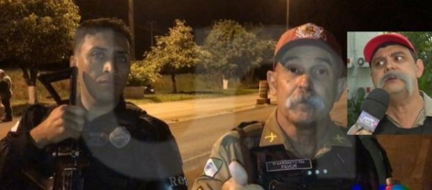 Sargento Fahur agradeceu ao programa Pânico pelo personagem.