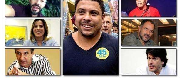 Veja quais famosos apoiaram Aécio Neves.