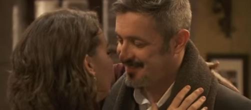 Il Segreto: Emilia e Alfonso soap opera