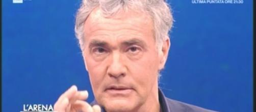 Massimo Giletti minacciato di morte in tv difende i suoi ospiti