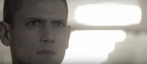 Wentworth Miller as Michael Scofield in Prison Break promo via YouTube