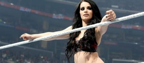 Will former WWE Divas Champion Paige ever return to the WWE ring? [Image via Blasting News image library/mirror.co.uk]