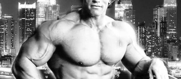 Arnold Schwarzenegger photo via BN library
