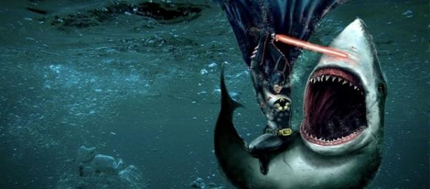 Batman lightsaber shark fighting by The-Antihero-Oookami on DeviantArt - deviantart.com