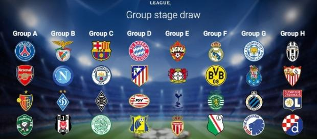Champions League Football / Photo spoured via Blasting News Library