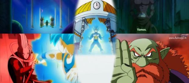Escenas del capítulo 91 de Dragon Ball Super.