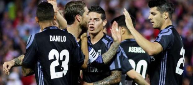 El Real Madrid es campeón de la liga 2016-2017.