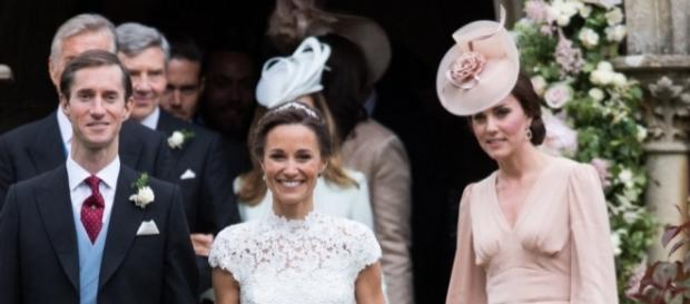 Kate Middleton at Pippa's wedding - Photo: Blasting News Library - aol.com