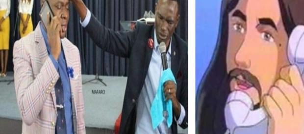 Pastor jura ter telefone de Deus - Google