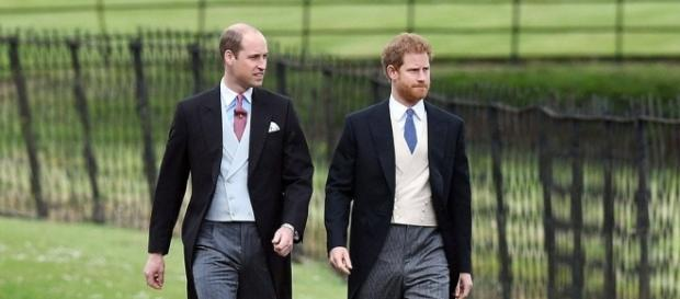 Prince Harry and Prince William at Pippa Middleton's wedding - Photo: Blasting News Library - eonline.com