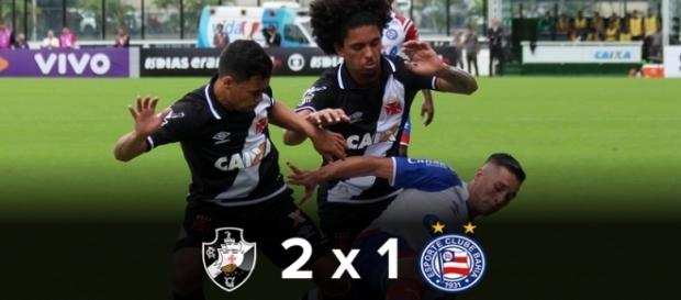 Vasco vence o Bahia em São Januário