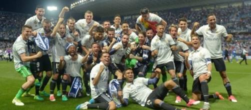 Celebración Real Madrid. Foto As.com