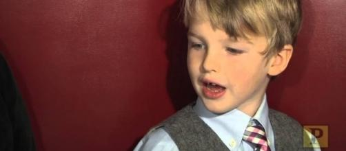 Iain Armitage is 'Young Sheldon' in new CBS show - YouTube/Playbill Video