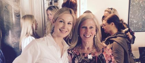 Kelly Rutherford and Tracey Fitzpatrick Gudrun Sjoden Fashion Show/via Delaney Dietzgen/Swedish Consul