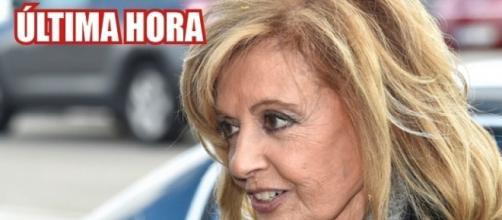 María Teresa Campos habla por primera vez desde el hospital