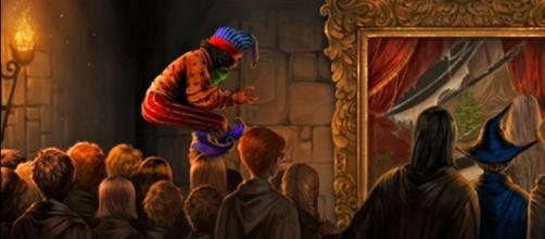 Pirraça, o Poltergeist, é um dos personagens que os fãs mais sentiram falta nos filmes (Foto: Pottermore)