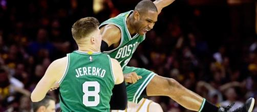 Remontada histórica de los Celtics (vía Twitter - Bet 365)