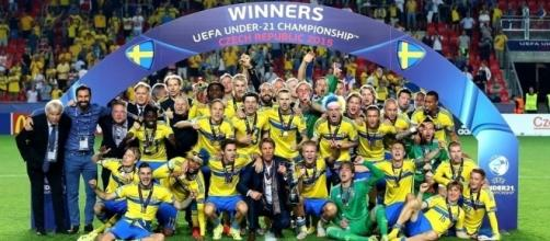 Sweden win the under-21 Euros photo via Martin Rose (Getty Images)