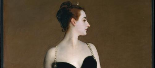 The portrait of 'Madame X' was painted by John Singer Sargent. / Photo via Rosary O'Neill, used with permission.