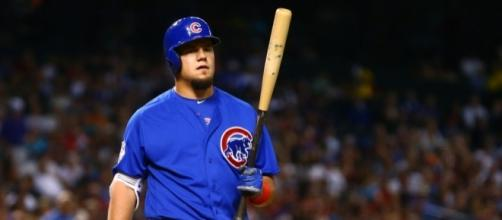 Watch Cubs' Kyle Schwarber take batting practice a day before the ... - usatoday.com