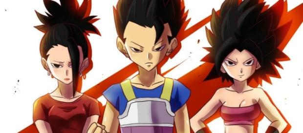 'Dragon Ball Super' preview reveals Cabba, Caulifa, and Kale love triangle. - geekdom101)