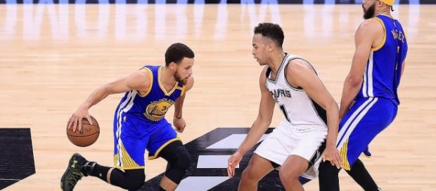 Golden State, a un paso del 4-0 (vía Twitter - Warriors)