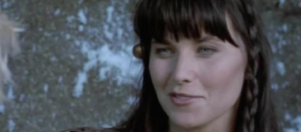 Lucy Lawless as 'Xena: Warrior Princess'/Photo via YouTube