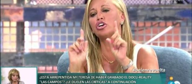 Sálvame Deluxe: Tenso regreso de Belén Esteban tras sus vacaciones - lavanguardia.com