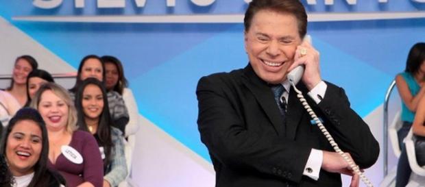 Silvio Santos continua muito divertido