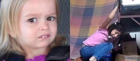 Encontro de memes: Chloe encontra Giovana do Forninho (Fotos: Reprodução/Chloe. e Giovana)