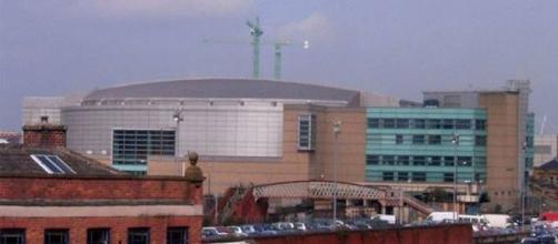 Exterior del Manchester Arena.