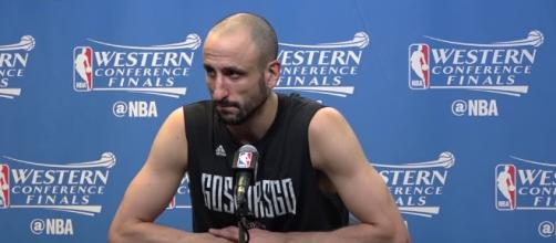 His team lost, but Spurs' Manu Ginobli makes impressive showing for possible last game before retirement. - mercurynews.com